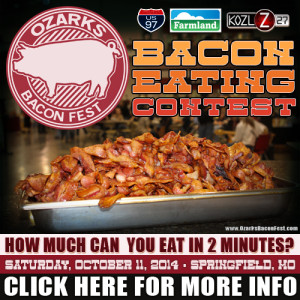 Bacon Eating Contest2014