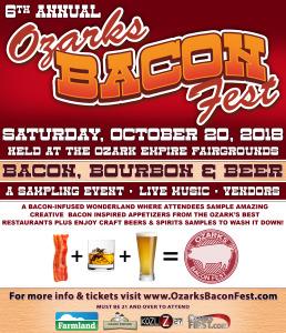 2018 Bacon Fest promo